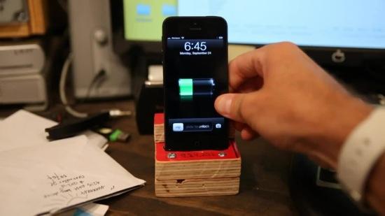 Iphone5 lightning dock build
