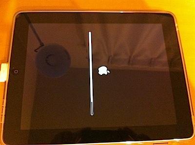 iOSアップデート作業が何時までも終わらない場合は?