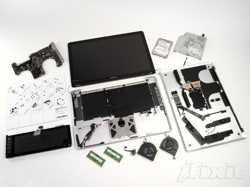 iFixitが非Retinaの「MacBook Pro 15 ...