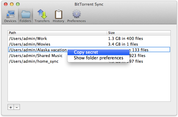 BitTorrentSync 05
