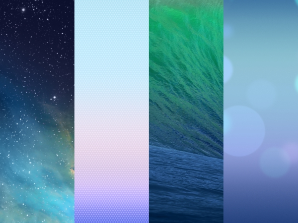 IOS7 Mavericks Wallpaper