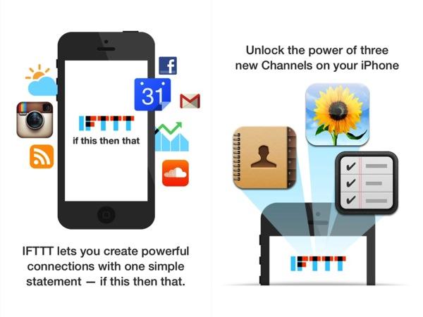 IFTTT for iOS 01