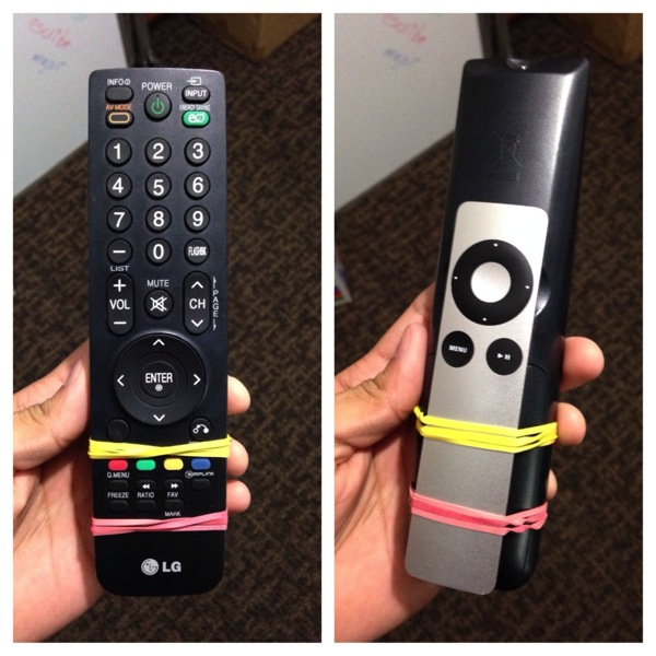 AppleRemote LifeHack