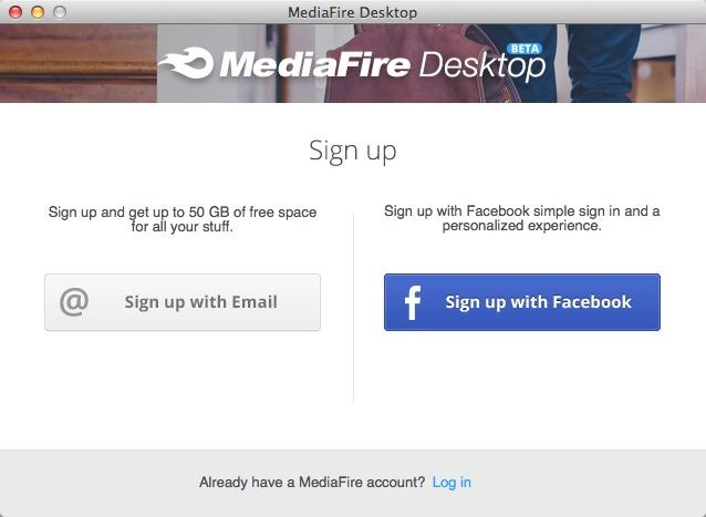 MediaFire Desktop 02