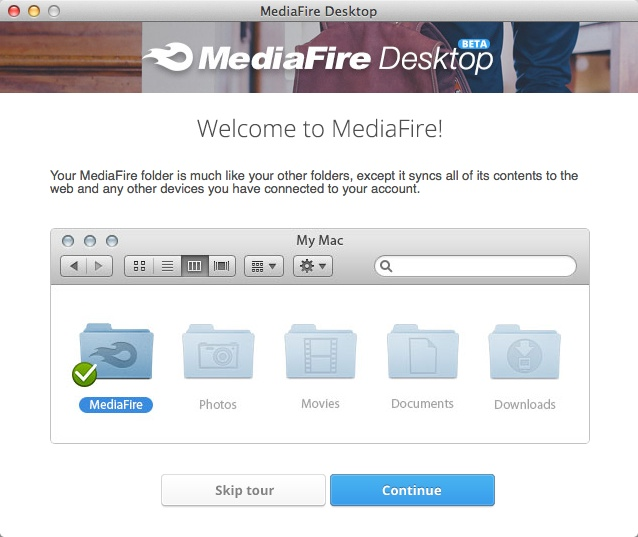 MediaFire Desktop 06