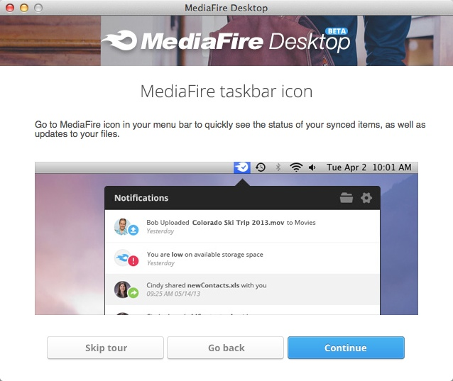 MediaFire Desktop 07