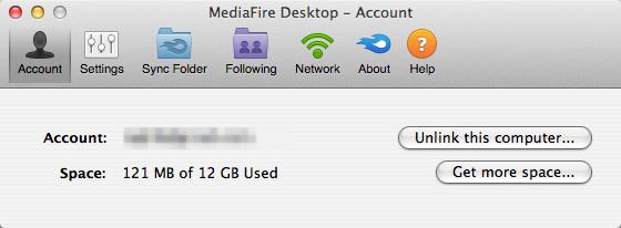MediaFire Desktop 10