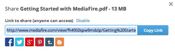 MediaFire Desktop 11