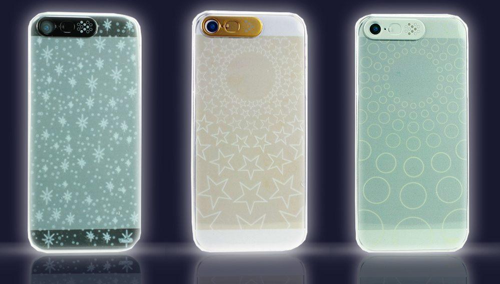 VanD LEDFlashing Clear iPhhone55S5Ccase 01
