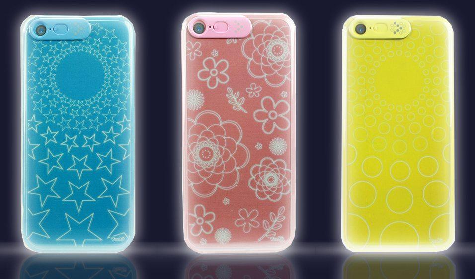 VanD LEDFlashing Clear iPhhone55S5Ccase 02