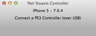 Pair Sixaxis Controller