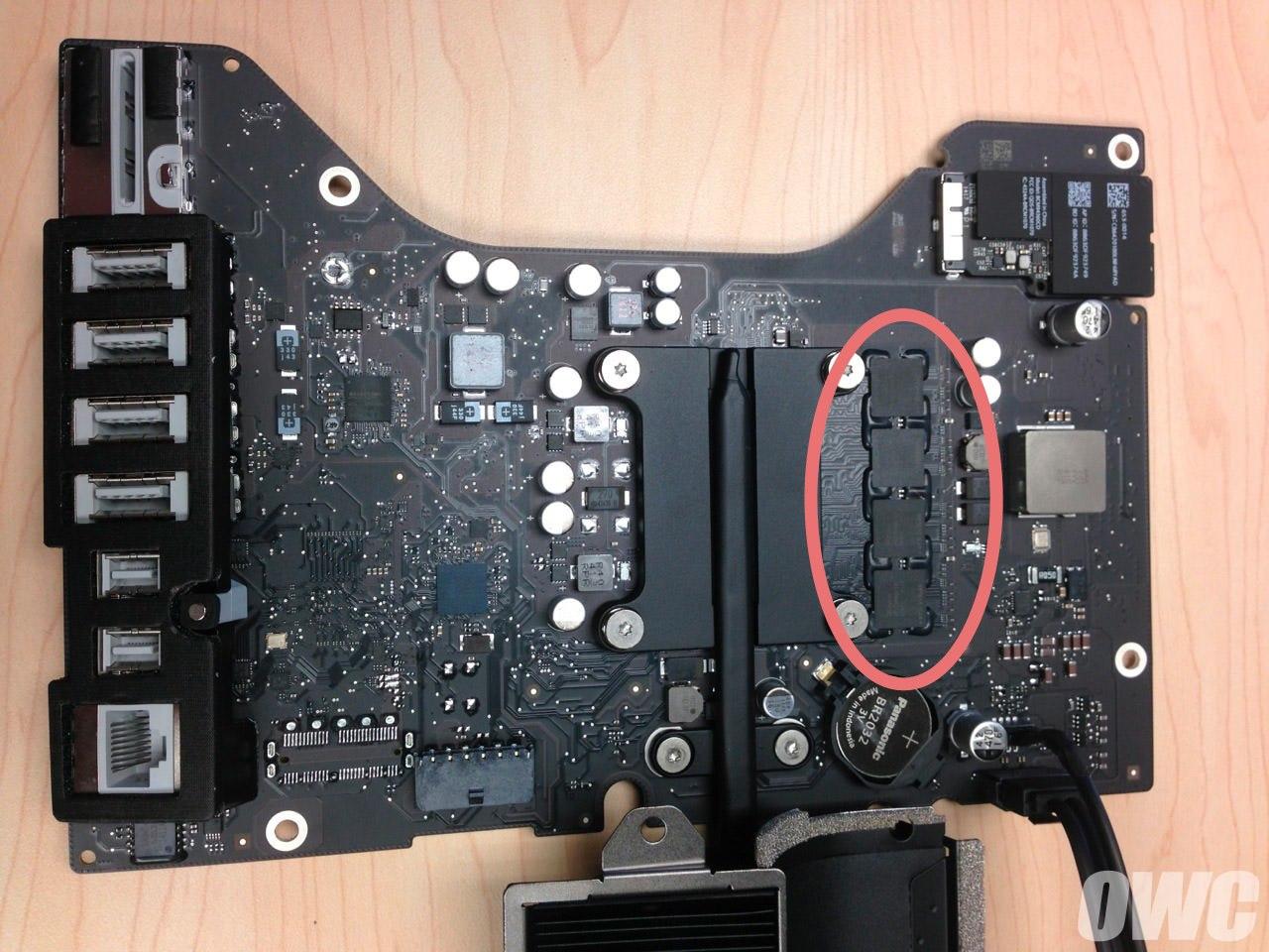 IMac21 5 2014 motherboard
