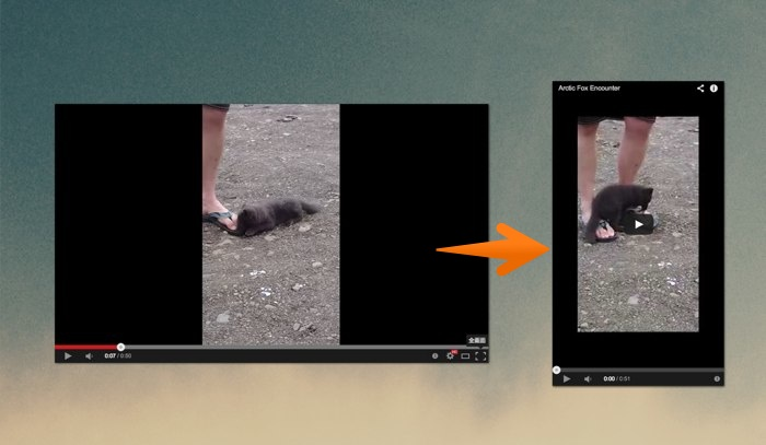 VerticalVideo YouTubeBookmarklet
