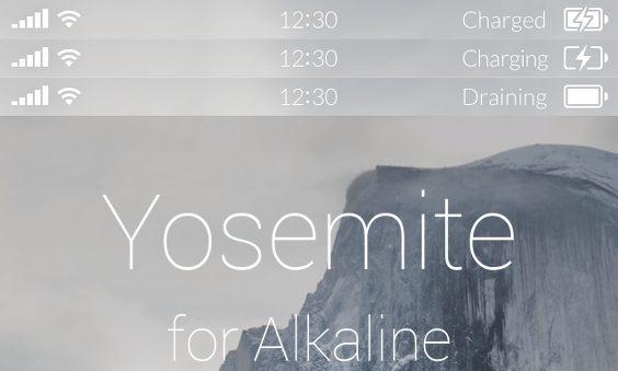 Yosemite BatteryforAlkaline