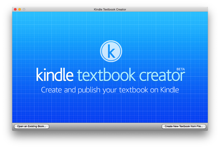 KindleTextbookCreator Mac