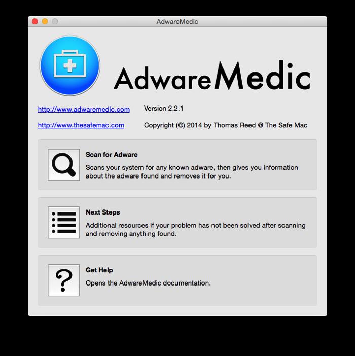 AdwareMedic Mac 01