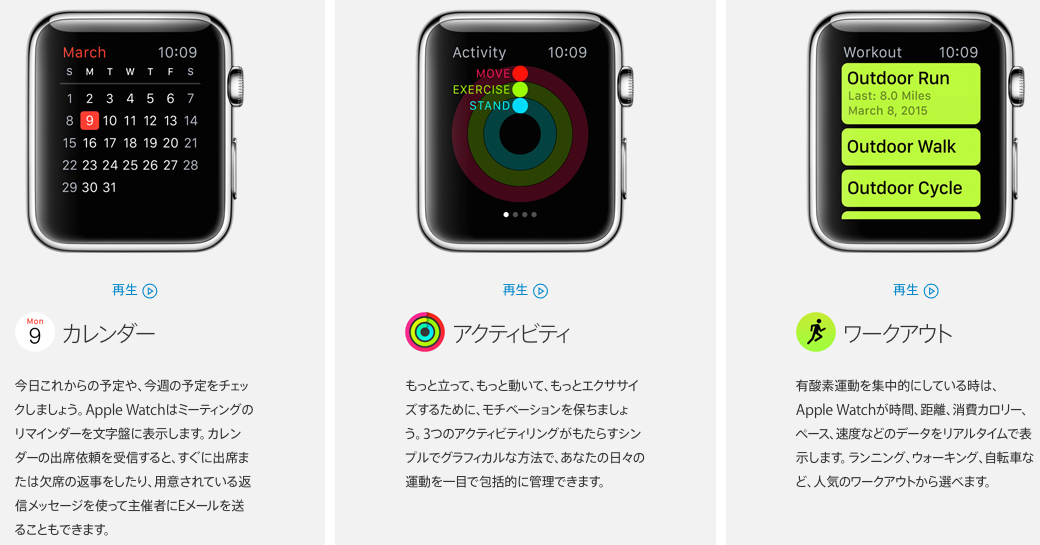Applewatch app