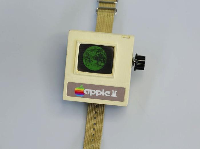 ちゃんと動く、apple Iiを再現した「apple Ii Watch」 Ipod Love