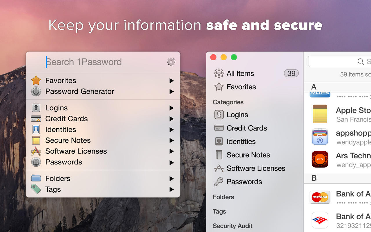 1Password mac sale