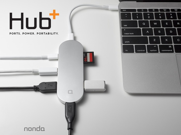 Hub Plus for USB C 01