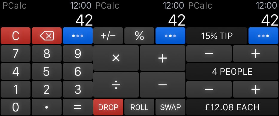 Pcalc AppleWatchSupport
