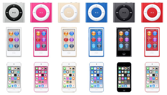 IPodfamily newcolors 02