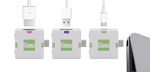 Usb c modular Cusby 03