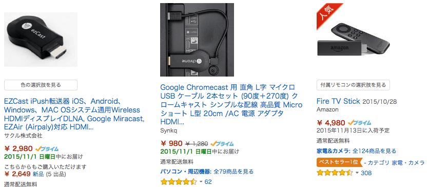 Amazon Chromecasttekkyo