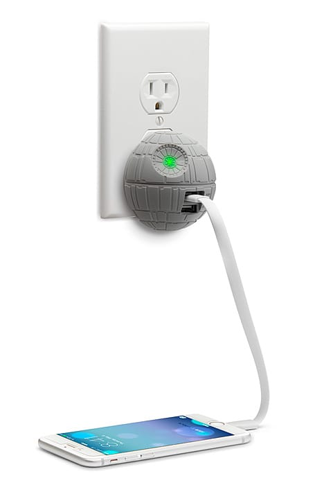 Huhp death star usb charger