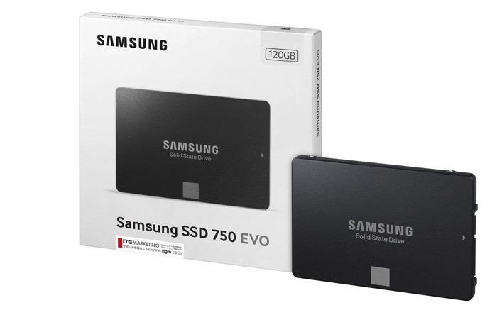 SamsungSSD 750EVO