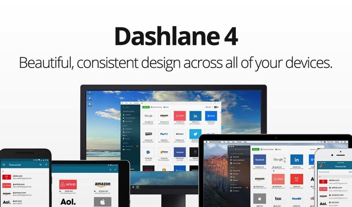 Dashlane PasswordManage