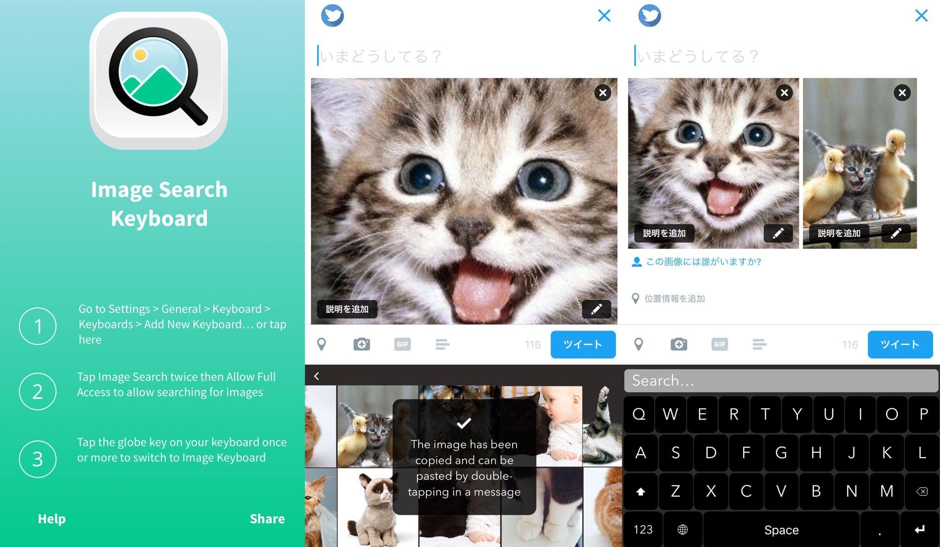 ImageSearchKeyboard iOSApp 01
