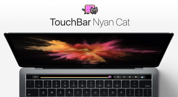 NyanCat TouchBar 02