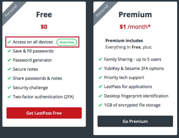 Lastpass mobilesync free 03