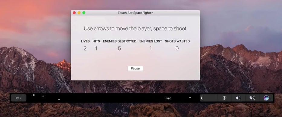 Touchbarfight