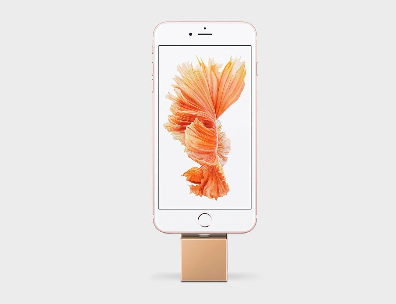 Q iPhoneDockStand 04