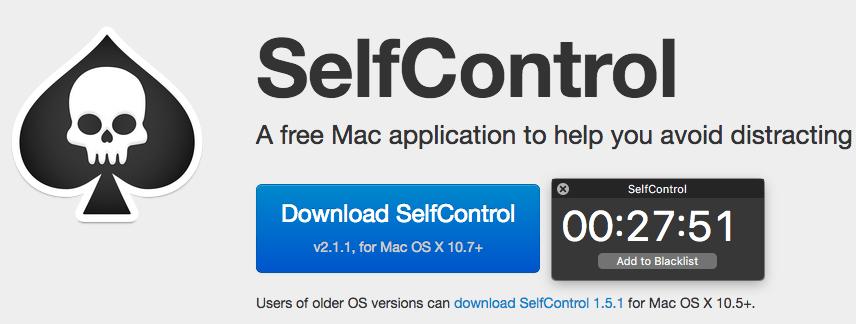 SelfControl mac