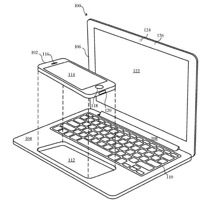 MacBook touchPadPatent