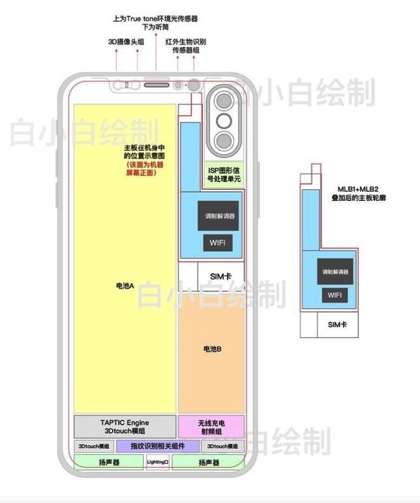 IPhone8 motherboard inline