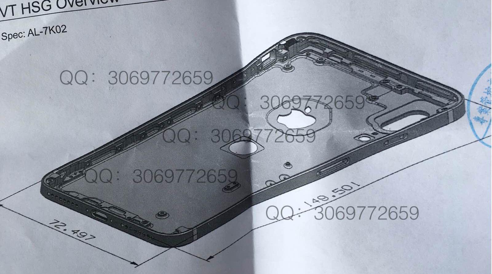 IPhone8 bottomcase