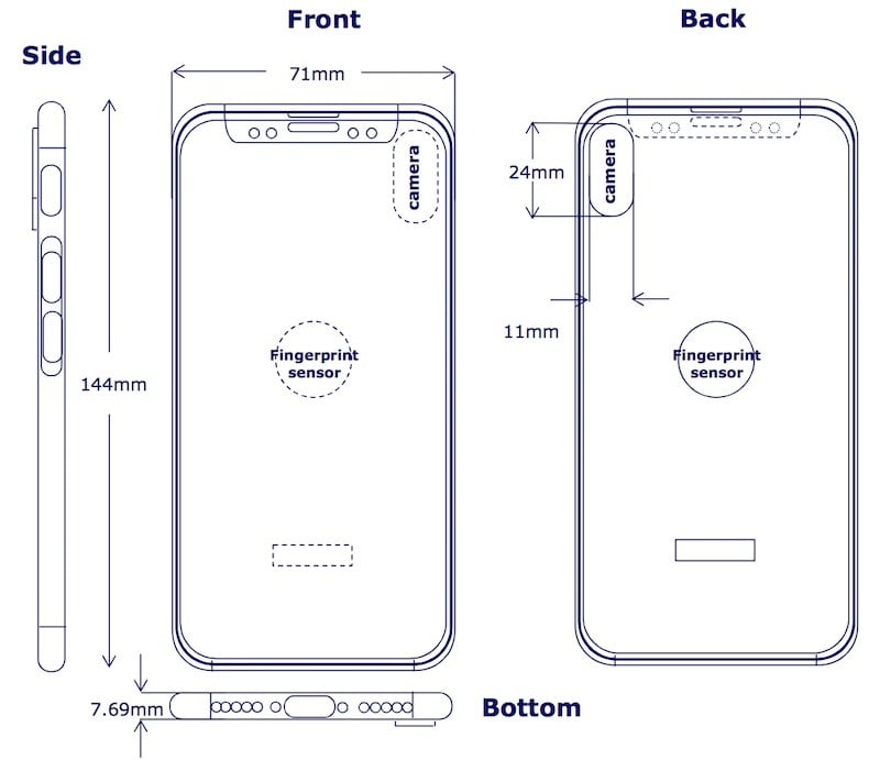 IPhone8 backtouchid