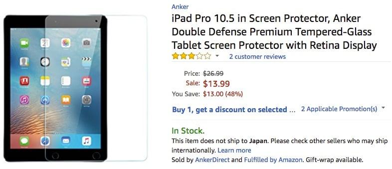 Anker iPadPro10 5inch Glass 01