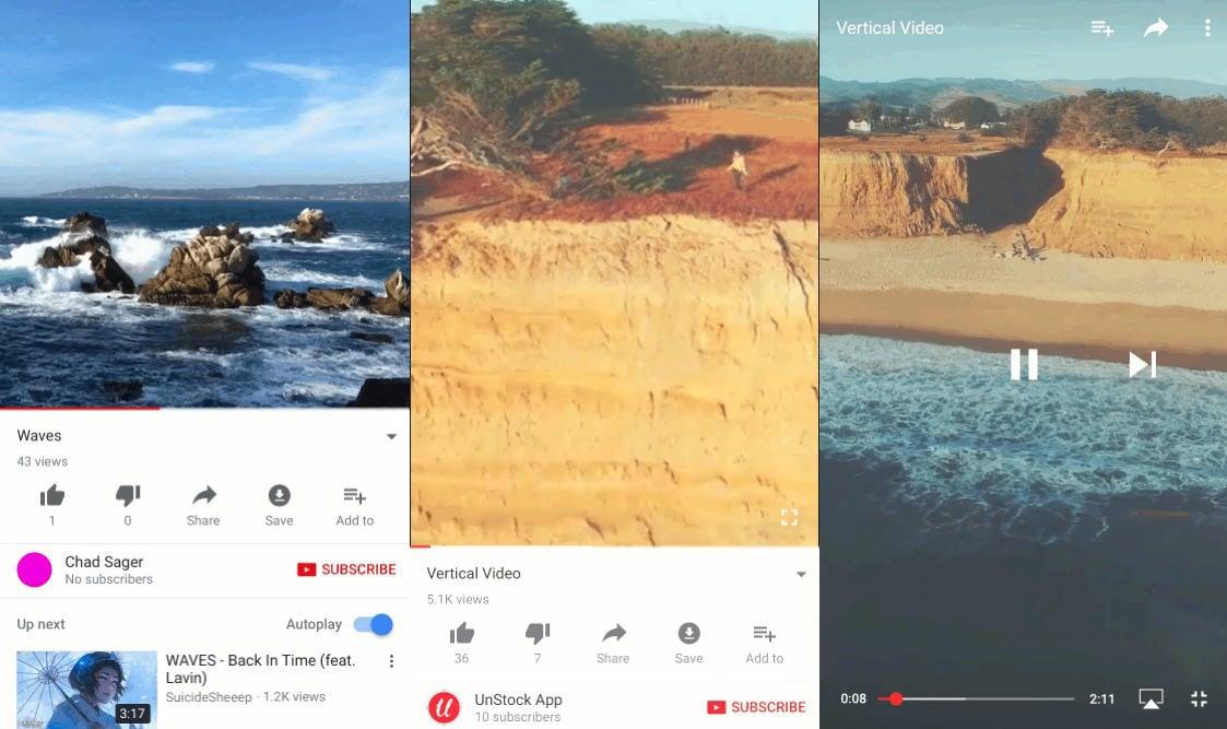 Youtubeapp videosize