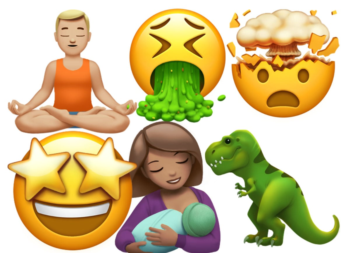 Apple unicode10 emoji