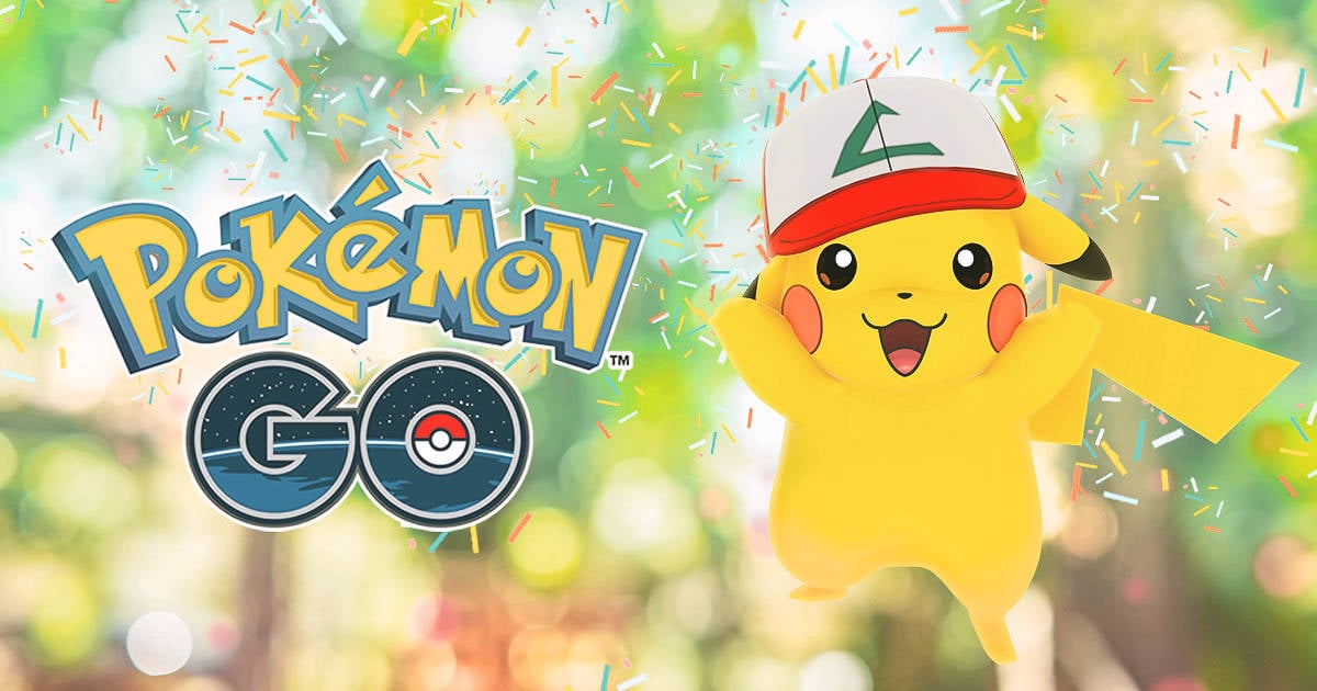 Pokego1years pikachu