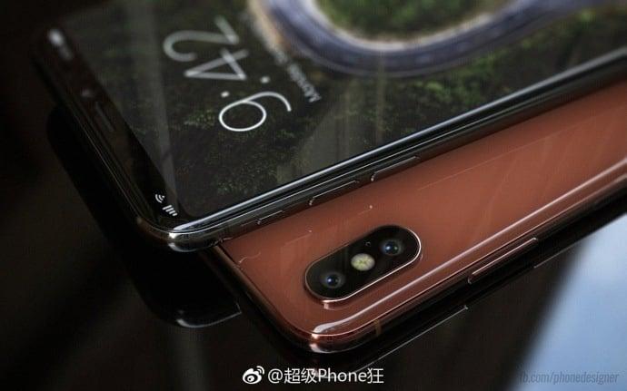 IPhone8 dammy weibo 02