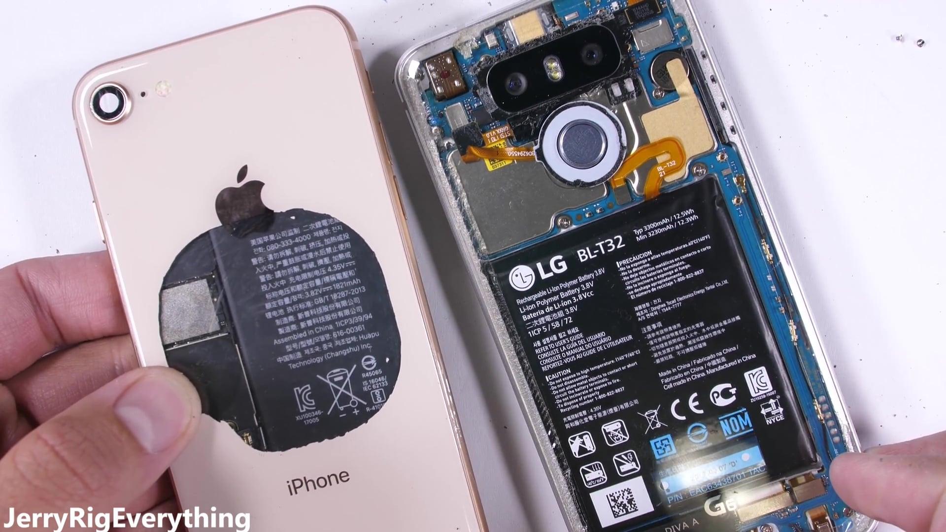 Iphone 8 の背面ガラスは透明スケルトンにできない Ipod Love