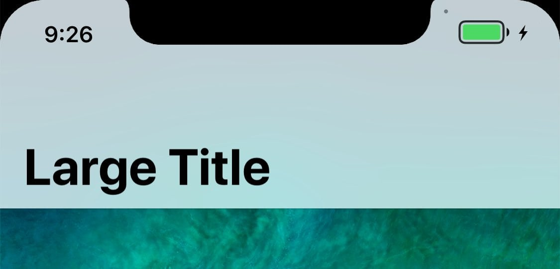 IPhoneX iOS11 Statusbar 02