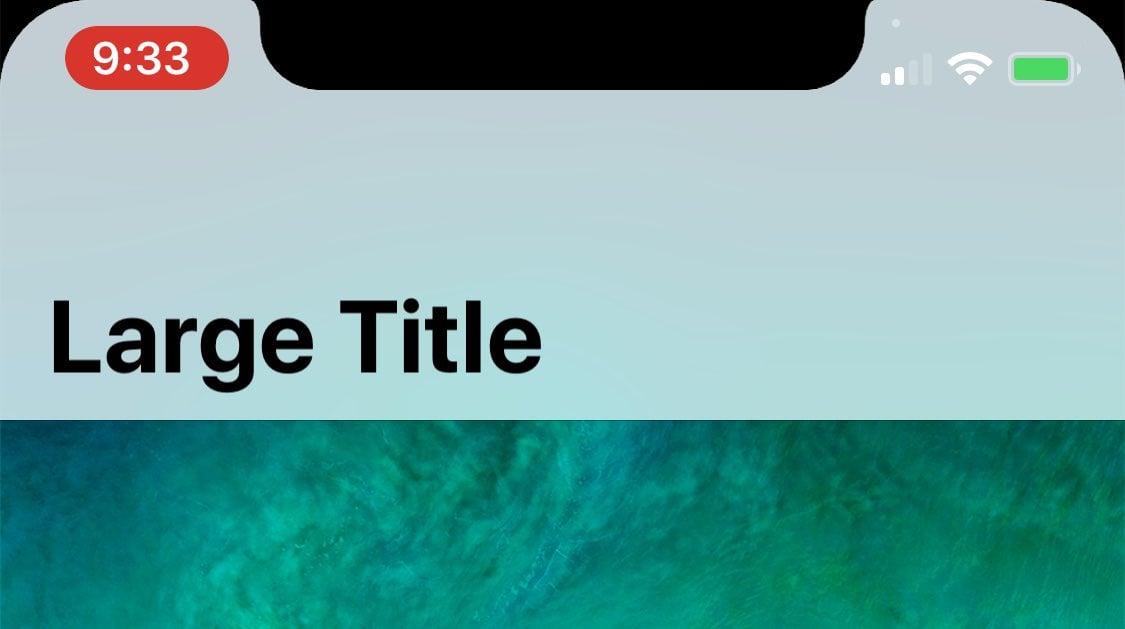 IPhoneX iOS11 Statusbar 03