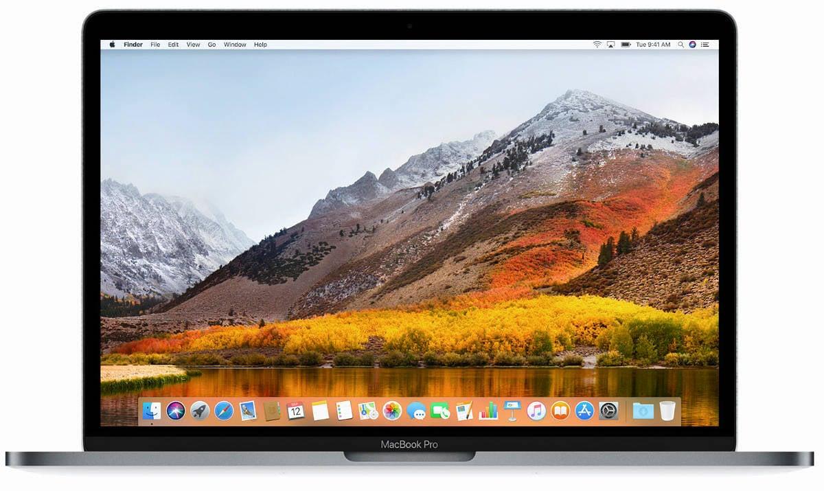 Macbook highsierra desktop